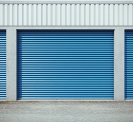 closed storage unit